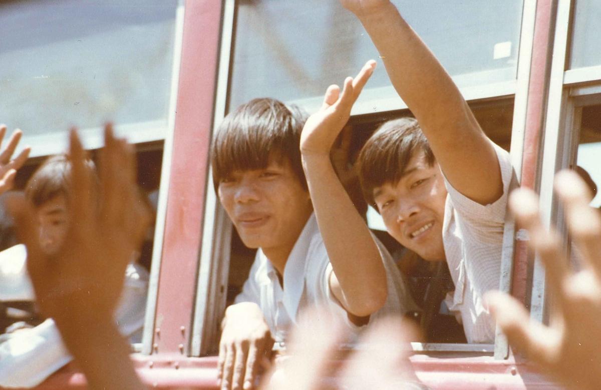 Vietnamese refugees living for North America