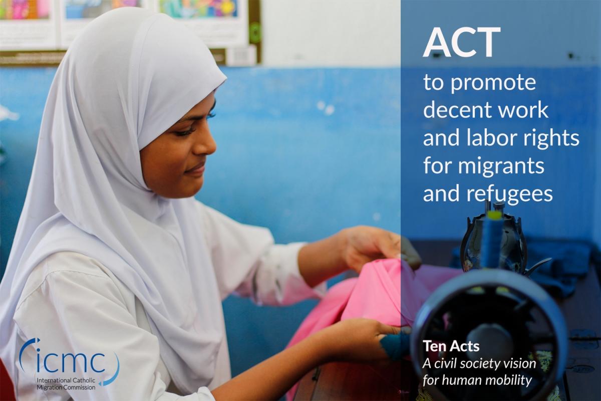 Act: promoting decent work