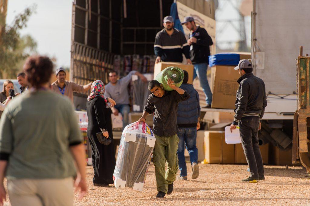 humanitarian distribution